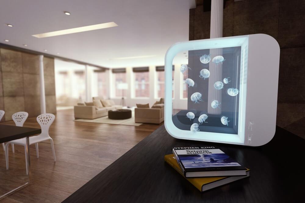 Acuario de medusas pulse80 medusa luna decoracion 4